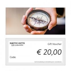 Geschenkgutschein €20