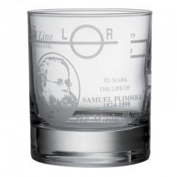 Glas whisky - Plimsoll linie
