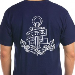 T-shirt Navy - Captain