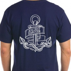 T-shirt Navy - Ancient Mariner Anker