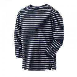 Unisex Breton T-Shirts with Three-quarter-length Sleeves