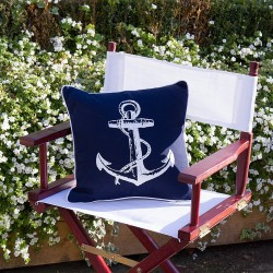 Cushion with Anchor Detailing