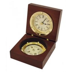 Uhr & Kompass in Box