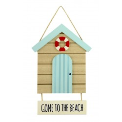 Texttafel - Gone to the Beach