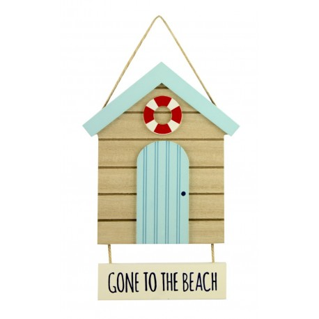 Texttafel - Gone to the Beach