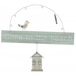 Texttafel- Gone to the beach