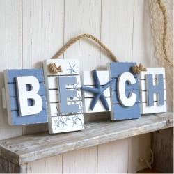 Text Board - Beach