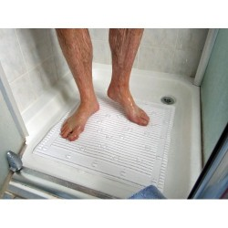 Antifungal bath mat