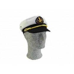 Kapitänsmütze - Weiss