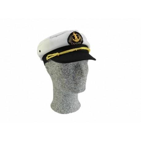 Kapiteinspet - Wit