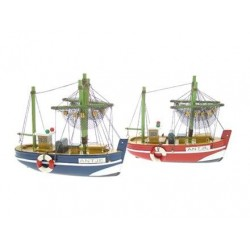 Fishingboat Antje - 16 cm (2 assorted)