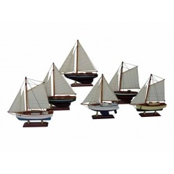 Sailboat - 20 cm (6 assorted)