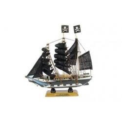 Pirate boat - 16 cm