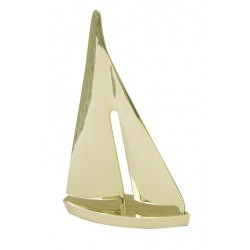 Sailboat brass - 10 / 12 / 15 / 20 cm