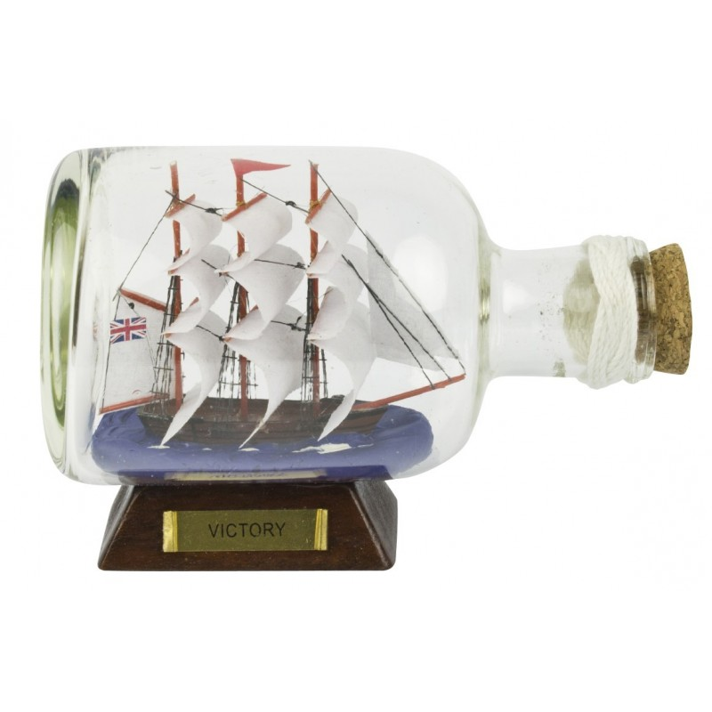 14cm HMS Victory Ship-in-Bottle