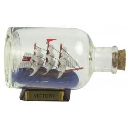Ship in a bottle HMS Victory - 9 cm