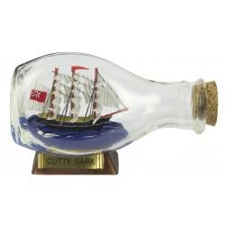 Flessenschip Cutty Sark - bol - 9 cm
